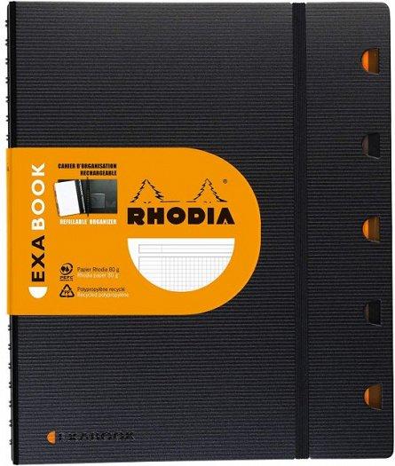 Organizator A4+,80f,mate,Rhodia,Exabook