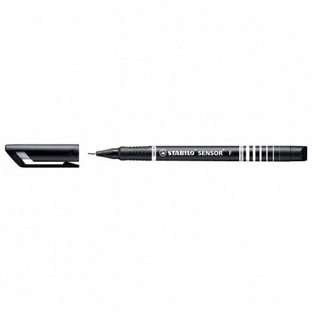 Liner Stabilo Sensor, 0.3mm, negru