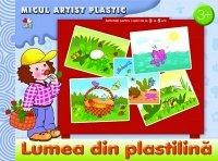 LUMEA DIN PLASTILINA.MICUL ARTIST PLASTIC