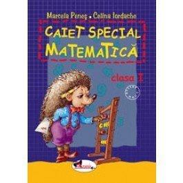 CAIET SPECIAL MATEMATICA  ARICEL- CLASA I