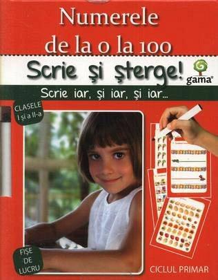 NUMERELE 0-100/ SCRIE SI STERGE