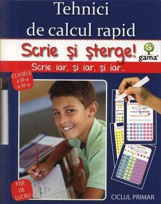 TEHNICI DE CALCUL RAPID/ SCRIE SI STERGE