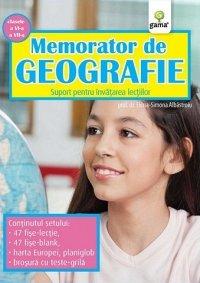 MEMORATOR DE GEOGRAFIE. CLASELE A VI-A, A VII-A