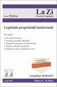 LEGISLATIA PROPRIETATII INTELECTUALE LA ZI COD 515 (actualizat 20.08.2013)