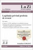 LEGISLATIA PRINVIND PROFESIA DE AVOCAT LA ZI COD 514 (actualizare 15.08.2013)
