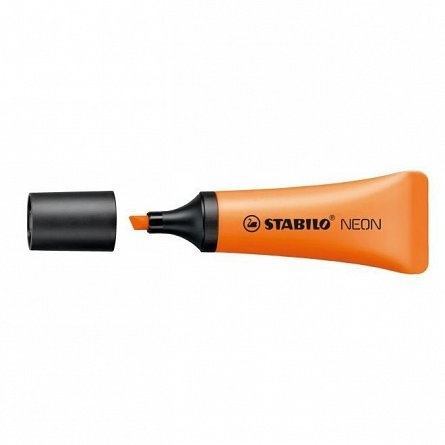 Textmarker Stabilo Neon, portocaliu