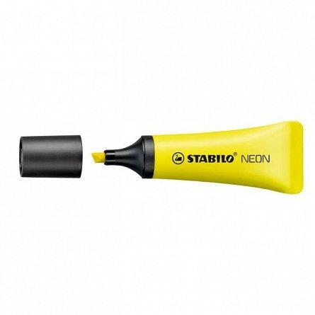 Textmarker Stabilo Neon, galben