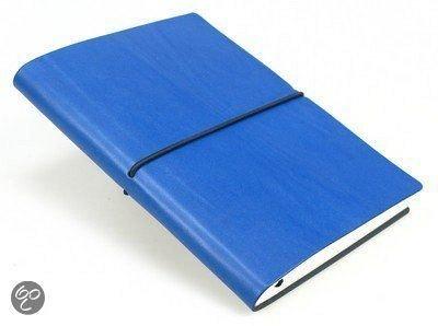 Agenda A5,Ciak,cu elastic,dict,albastru