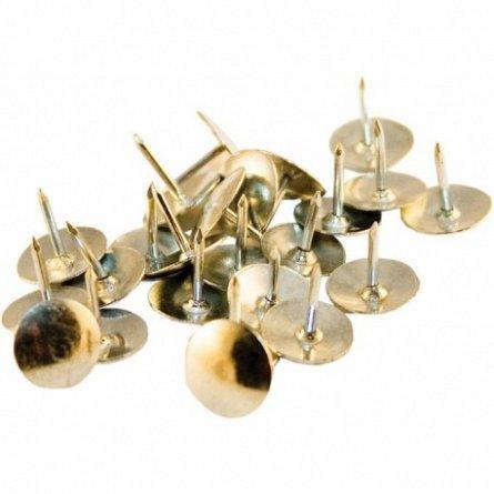 Pioneze metalice Memoris Precious, argintii, 100 bucati/set