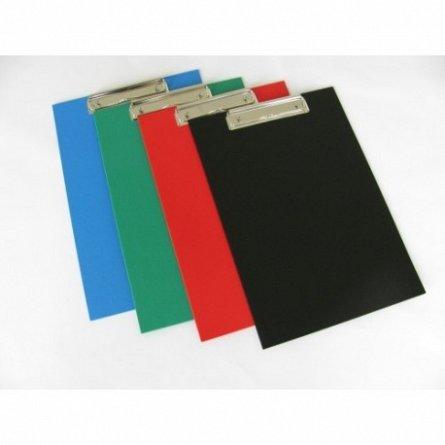 Clipboard simplu A4,PVC,rosu
