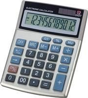 Calculator birou Memoris Precious, 12 digiti, baterii/solar