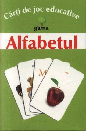 CARTI JOC ALFABETUL