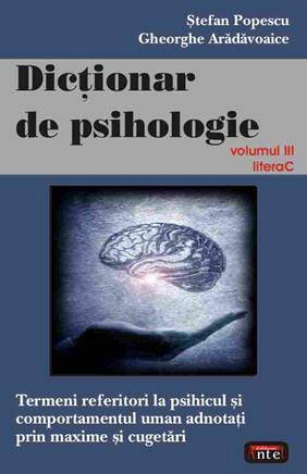 DICTIONAR DE PSIHOLOGIE VOL.III