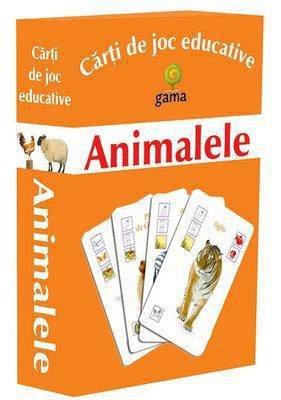 CARTI JOC ANIMALE