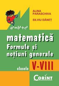 FORMULE MATEMATICE - CLS. V-VIII