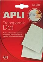 Pastile autoadezive Apli, Glue Dots, 64buc/set