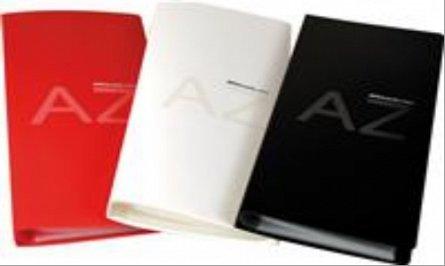 Clasor carti vizita Apli, 160 pozitii, negru