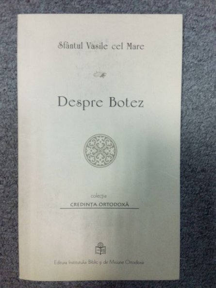 DESPRE BOTEZ