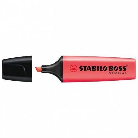 Textmarker Stabilo Boss, rosu