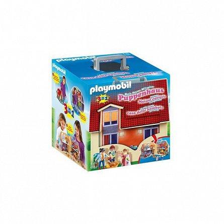 Playmobil-Casa de papusi mobila