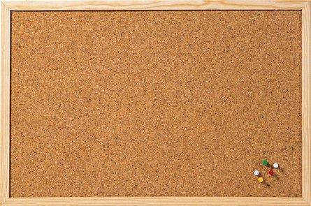 Tabla pluta A-series,rama lemn,40x60cm