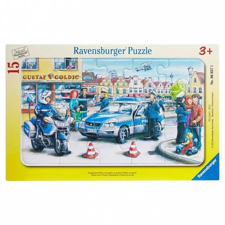 Puzzle Ravensburger - Departamentul politiei, 15  piese