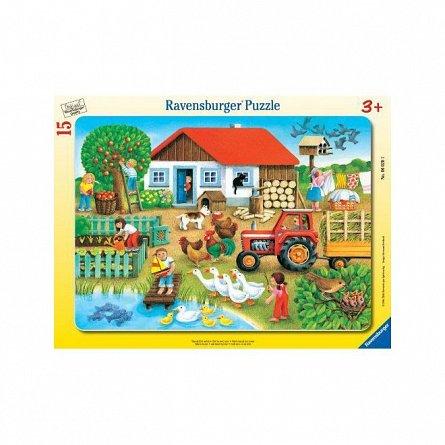 Puzzle Ravensburger - Unde sa il asez, 15 piese