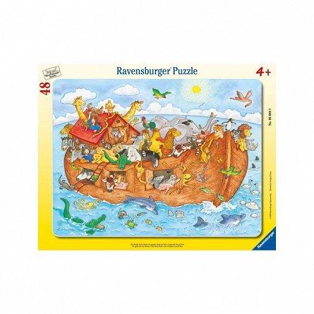 Puzzle Ravensburger - Arca lui Noe, 48 piese
