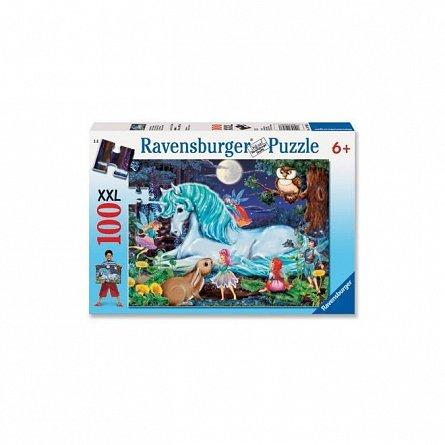 Puzzle Ravensburger - Padure, 100 piese