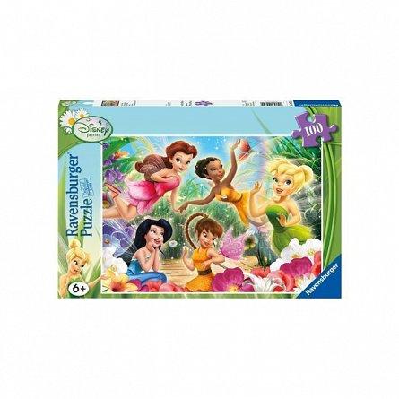 Puzzle Ravensburger - Zanele Disney, 100  piese