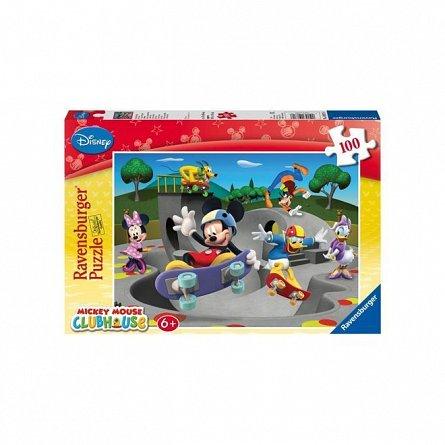 Puzzle Ravensburger - Clubul amuzant a lui Disney, 100 piese