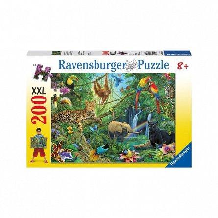 Puzzle Ravensburger - Jungla, 200 piese