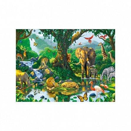 Puzzle Ravensburger - Jungla, 500  piese