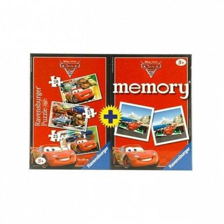 Puzzle Ravensburger - Memory Disney Cars, cutie 15/20/25 piese