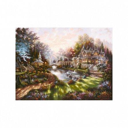 Puzzle Ravensburger - Revarsatul zorilor, 1000 piese