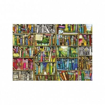 Puzzle Ravensburger - Libraria bizara, 1000  piese