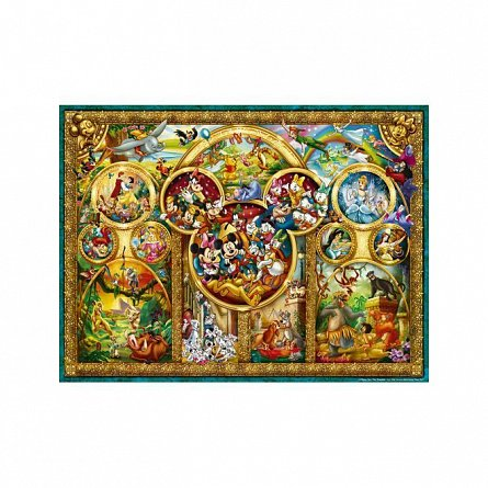 Puzzle Ravensburger - Temele Disney, 1000  piese