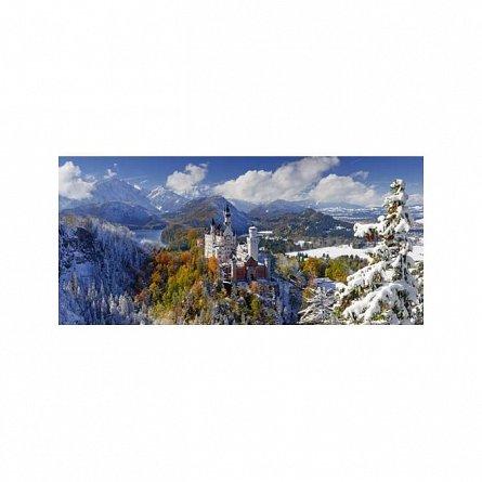 Puzzle Ravensburger - Castelul Neuschwanstein, 2000  piese