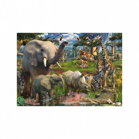 Puzzle Ravensburger - Animale in salbaticie, 18000  piese