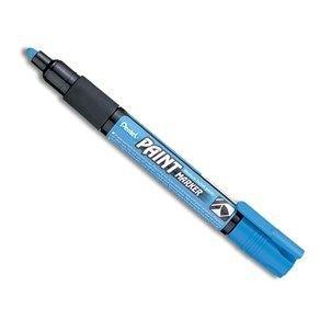 Marker perm.Pentel,cu vopsea,4mm,blue