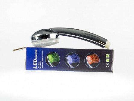 Cap de dus cu LEDuri termosensibile, 3 culori ,Gizzys