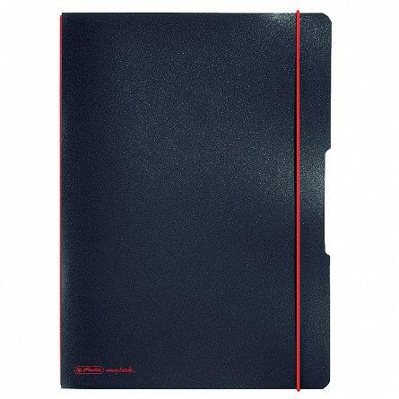 Caiet A4,My.Book Flex,40f,dict,negru
