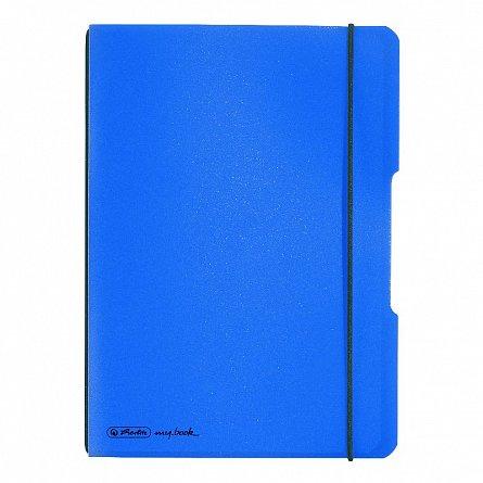 Caiet A4,My.Book Flex,40f,mate,albastru