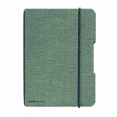 Caiet A6,My.Book Flex,40f,mate,gri/negru