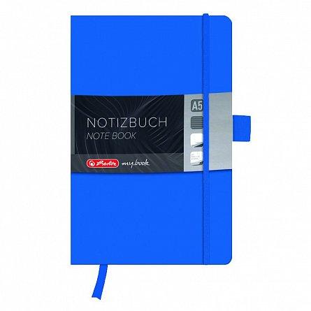 Agenda A5,My.Book Classic,96f,dict,albastru