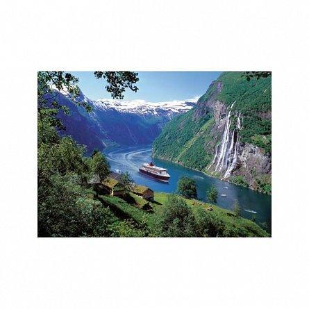 Puzzle Ravensburger - Fiord Norvegian, 1000 piese