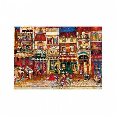 Puzzle Ravensburger - Strazile Frantei, 1000 piese