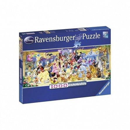 Puzzle Ravensburger - Personajele Disney, 1000 piese