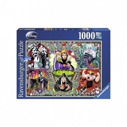 Puzzle Ravensburger - Disney vrajitoare, 1000 piese