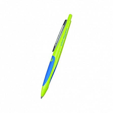 Pix cu gel My.Pen,corp lemon/albastru intens